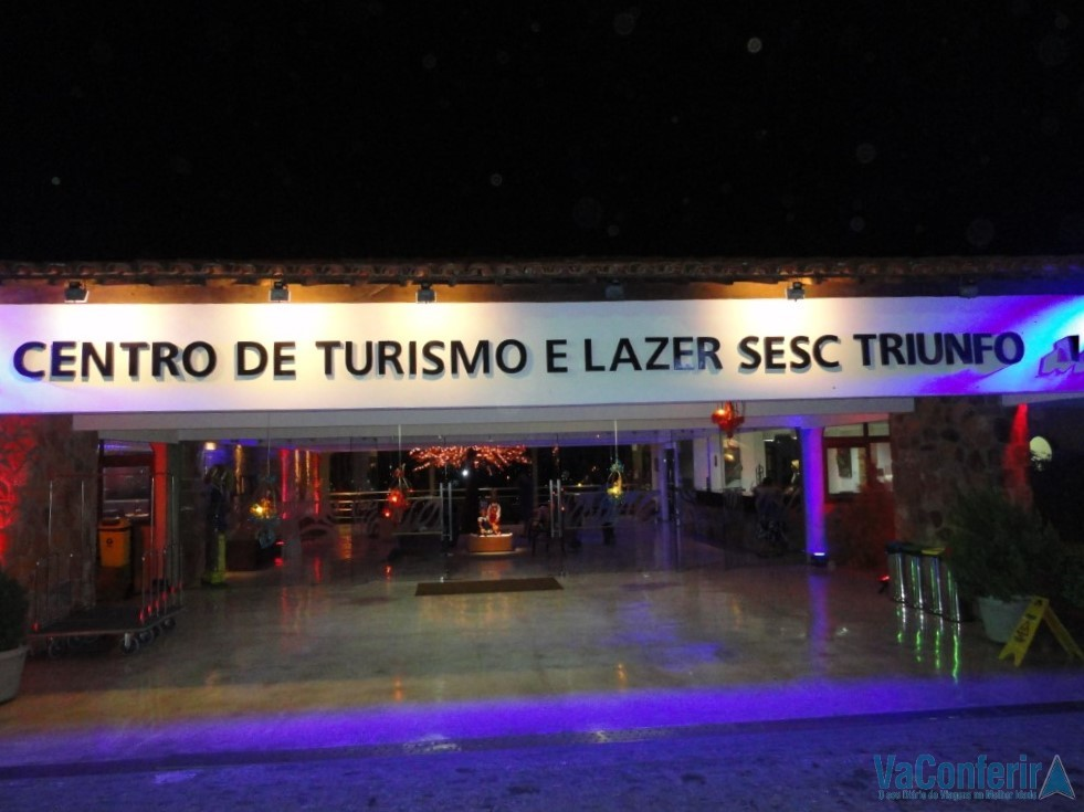 Hotel do Sesc em Triunfo