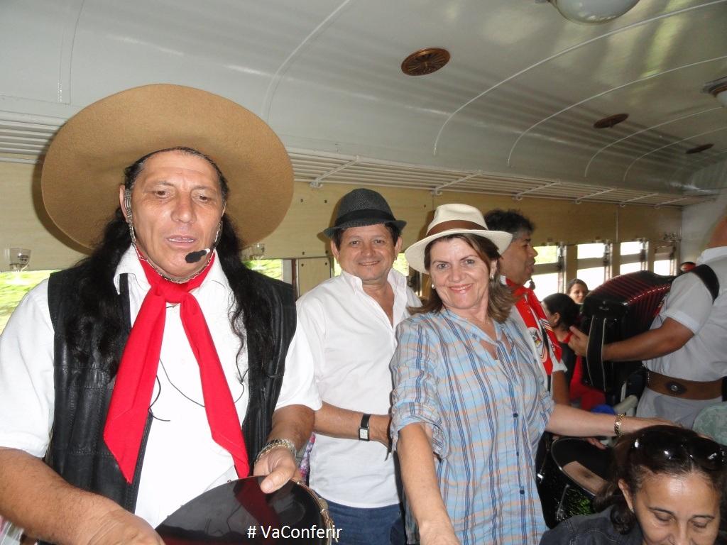 Show Gaúcho que transforma o passeio numa grande festa.