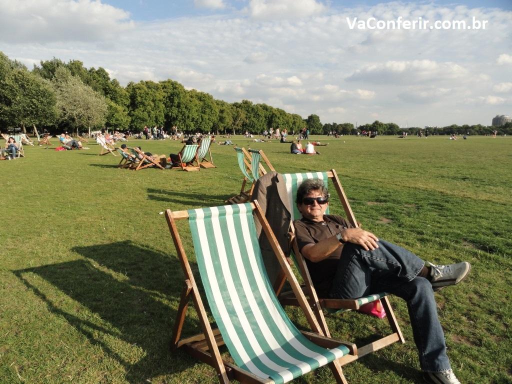 Conforto e beleza para os visitantes em todos os cantos e recantos do Hyde Parque.