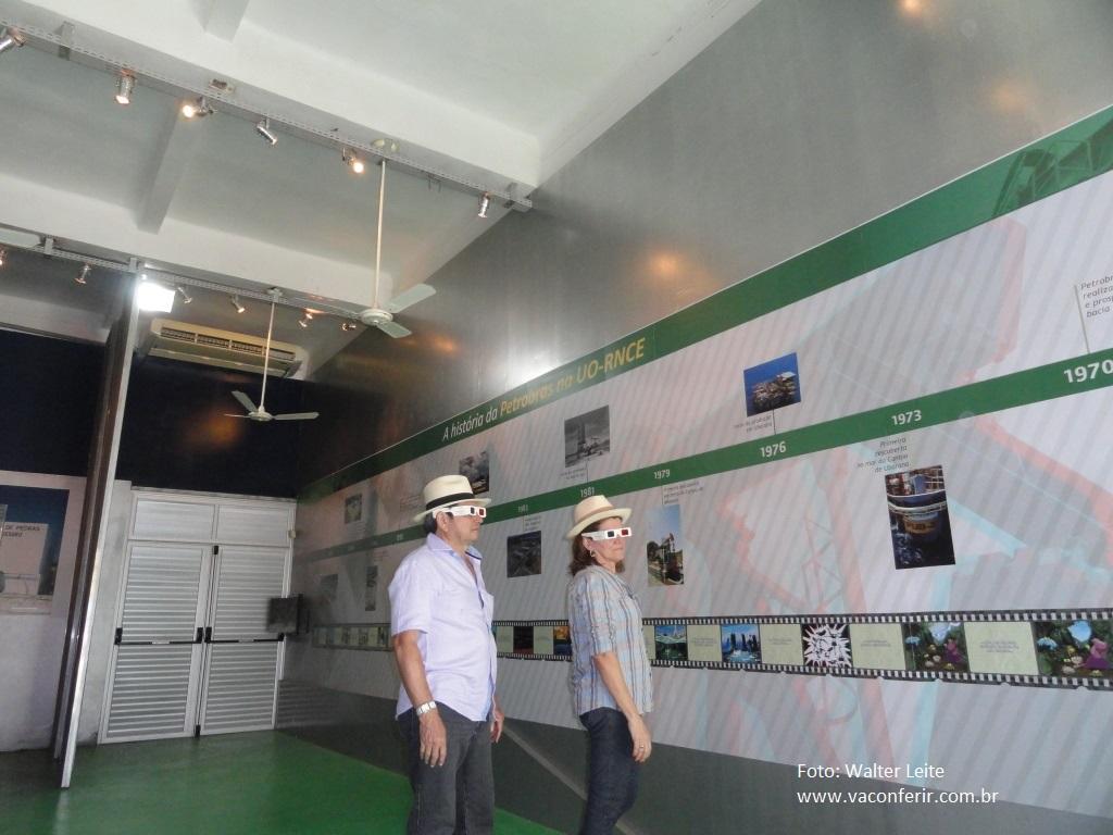 Conhecendo a história da Petrobras em 3D.