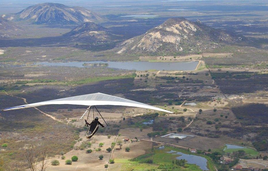 A Rampa - onde sai os voos livres de Para