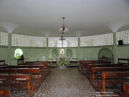 1º piso: Ala interna da Igreja de Nossa Senhora dos Impossíveis.