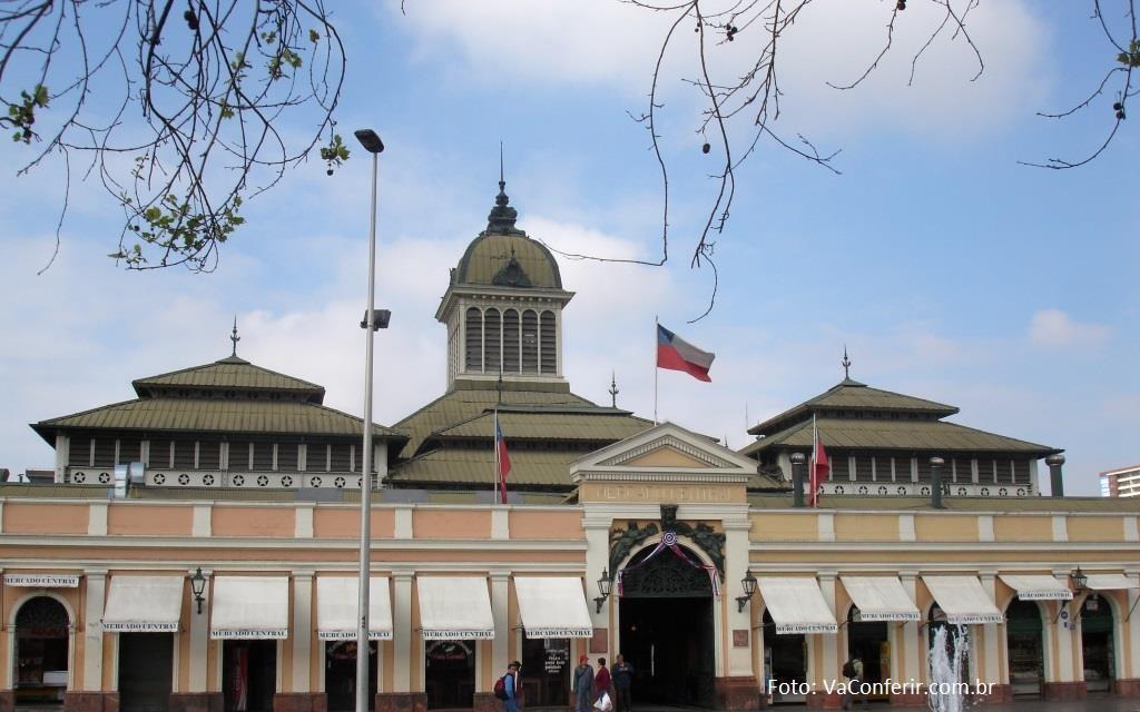 Mercado Municipal - Um dos ponto de encontro dos turistas Comer e Beber.