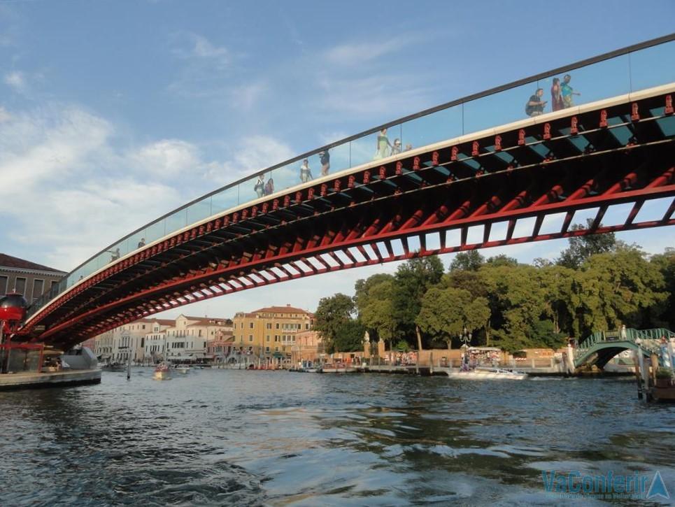 Ponte sobre o Grande Canal de Veneza