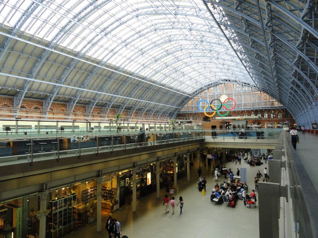 Estação St. Pancras de Londres: a mais bonita?