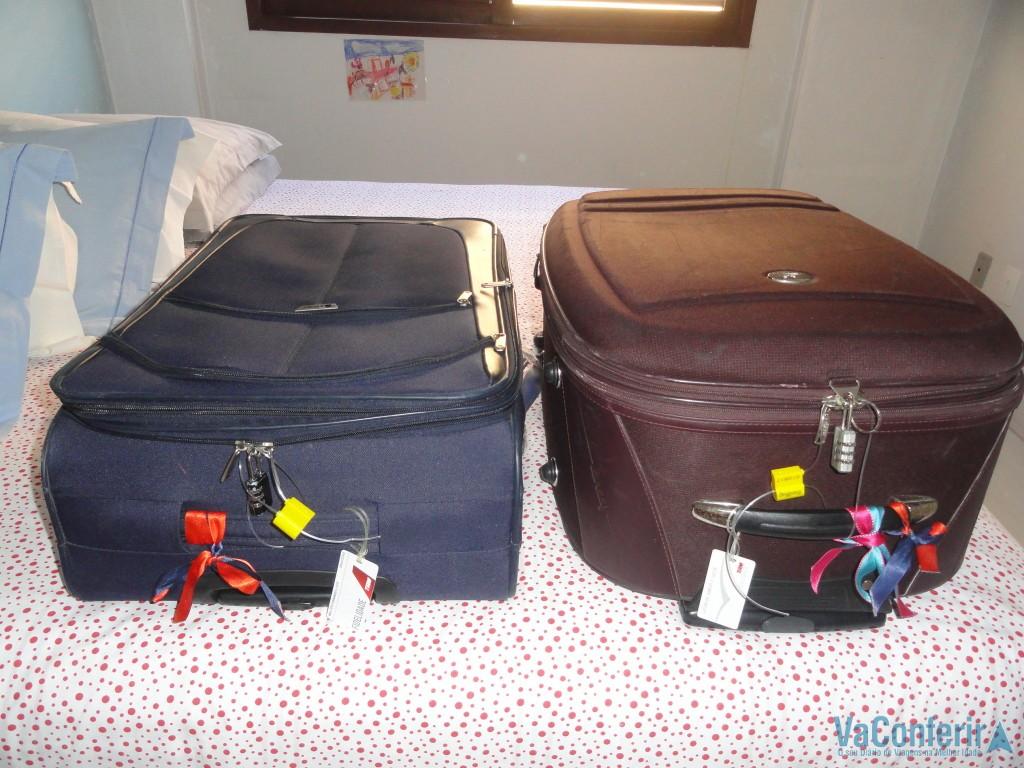 Malas prontas para embarcar numa bela viagem!