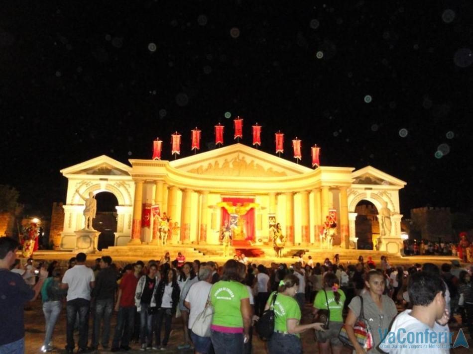 O Fórum Romano na Paixão de Cristo