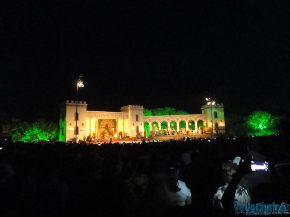 Palácio de Herodes na Paixão de Cristo em Pernambuco
