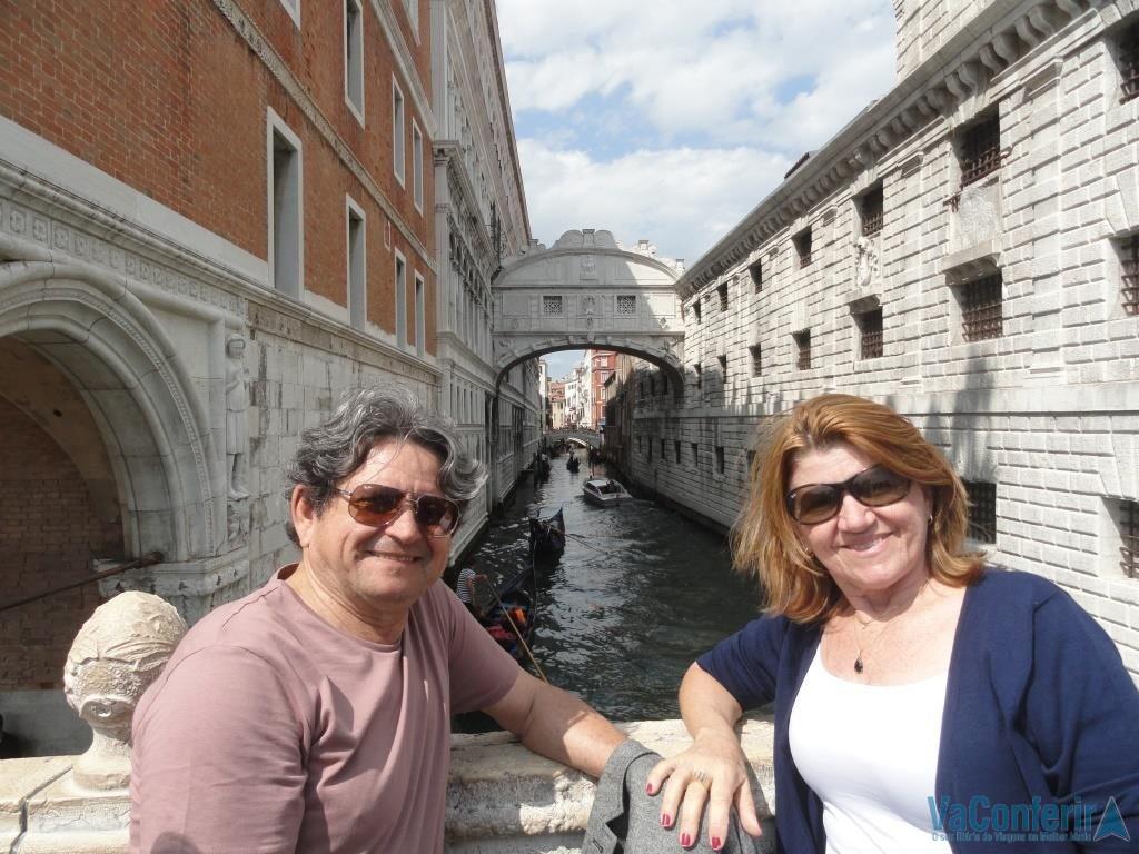 Ponte dos suspiro em Veneza