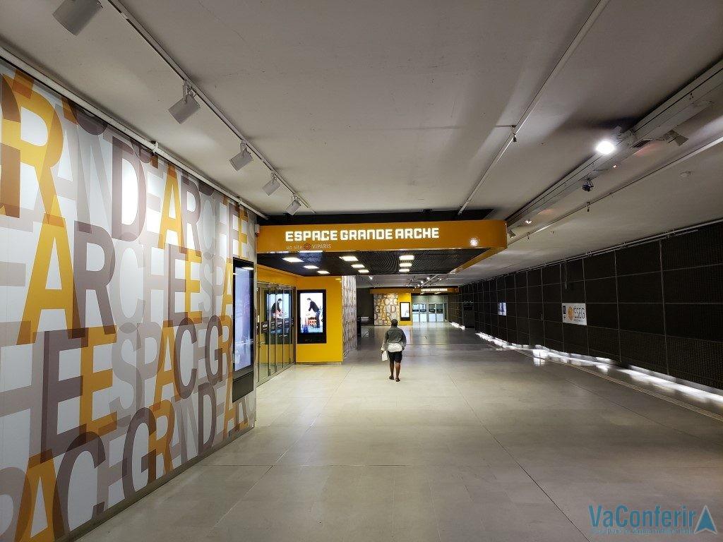 Salas de espaços de eventos do Grande Arco