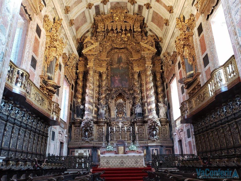 Altar Mor da Catedral da Sé de Porto - Blog VaConferir