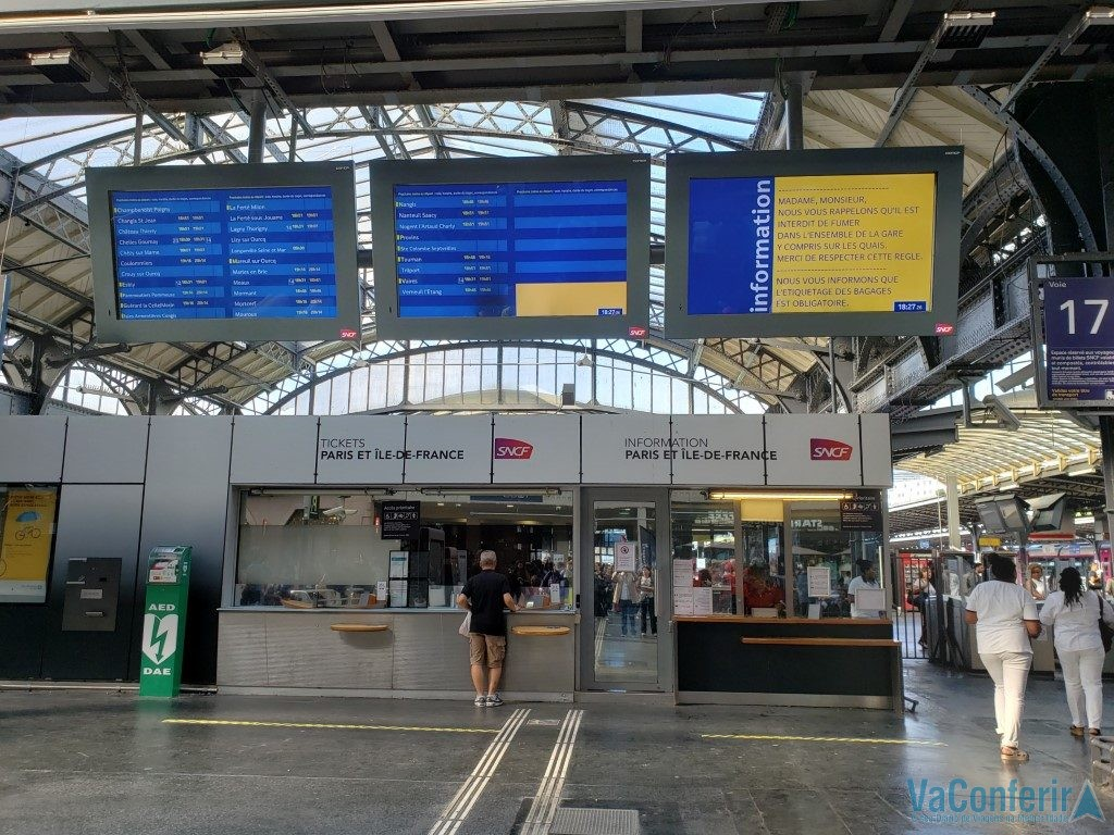 Estação Gare de I'est de Paris