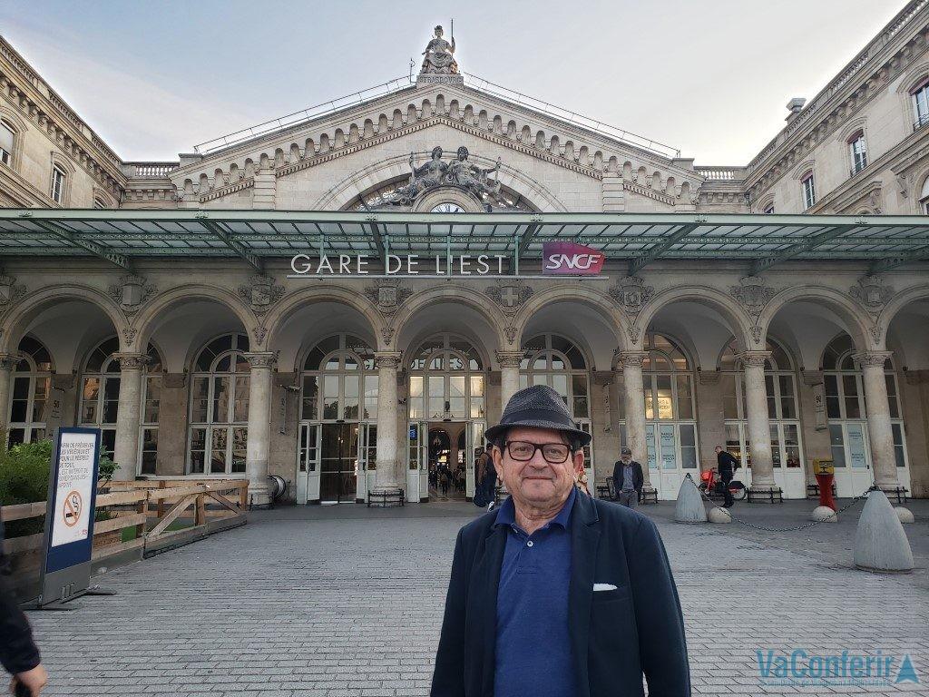 Estação Gare de I'Est Paris