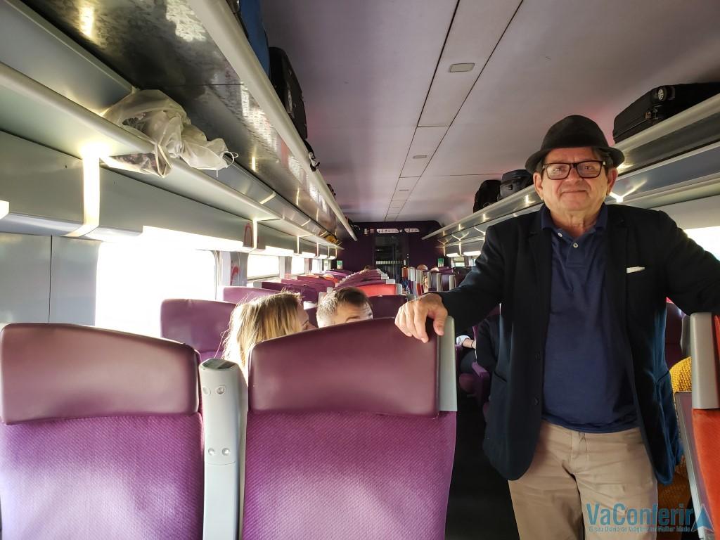 Trem para Strasburg