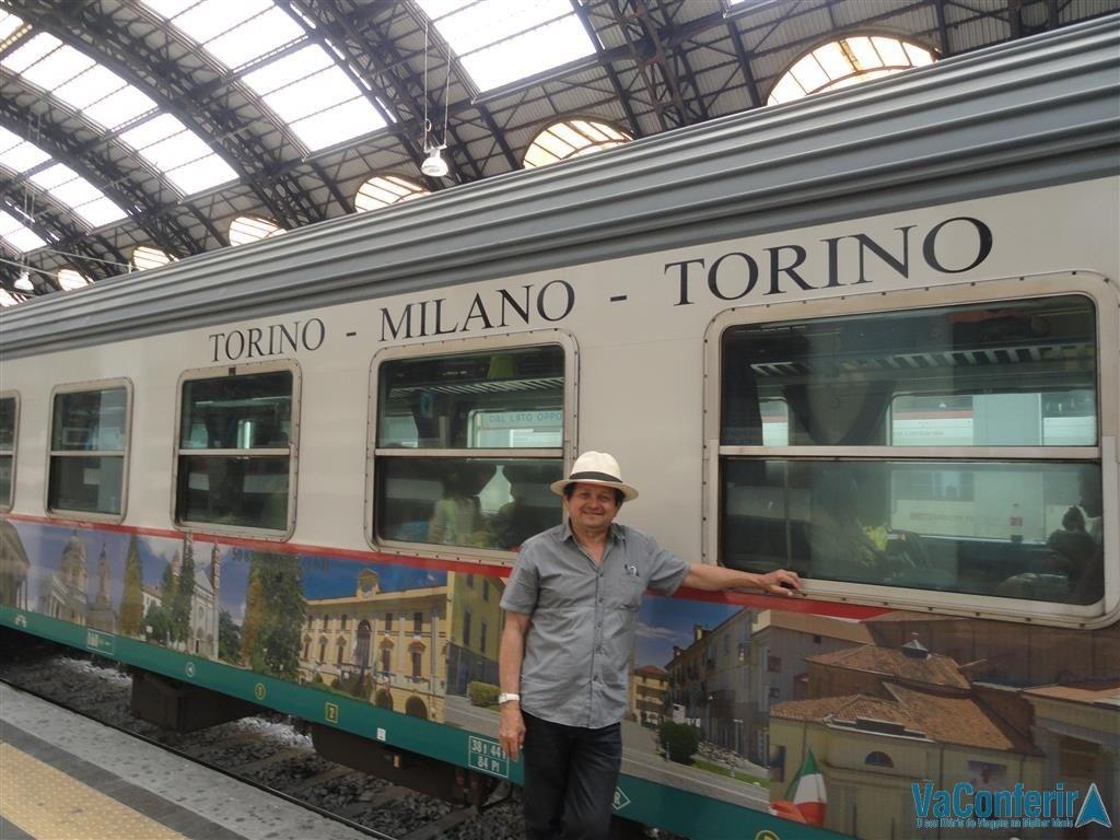 Trem regional na Itália